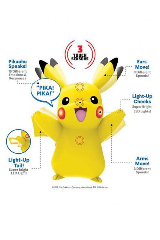 WCT Pokémon figurka Deluxe - Pikachu
