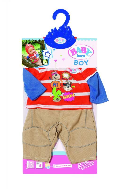 Zapf Creation Baby born Oblečení na chlapečka, 2 druhy