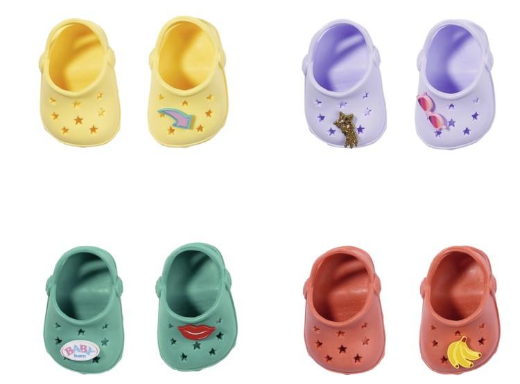 BABY born Gumové sandálky, 4 druhy, 43 cm