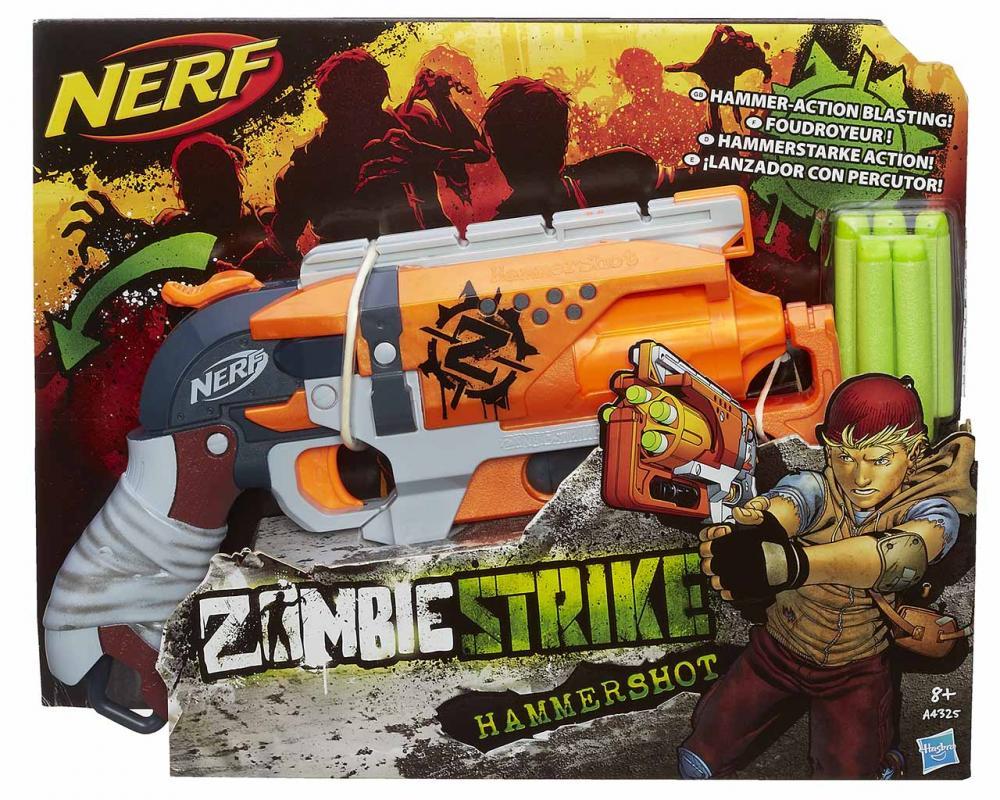 Hasbro Nerf Zombie Strike Hammershot (Elite)