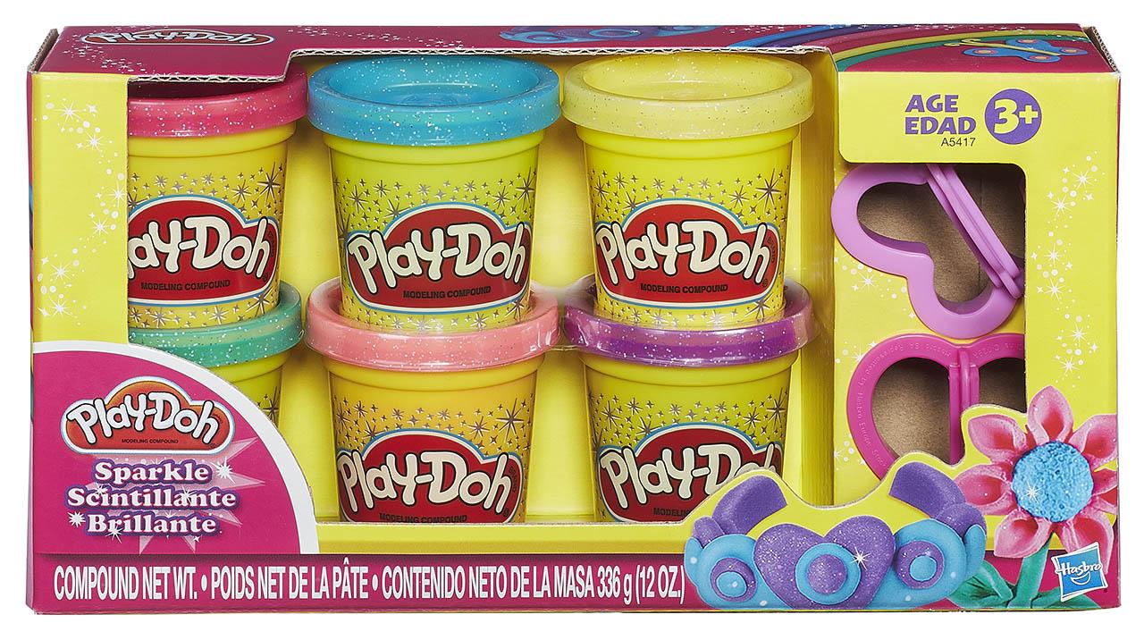 Hasbro Play-Doh Třpytivá modelína