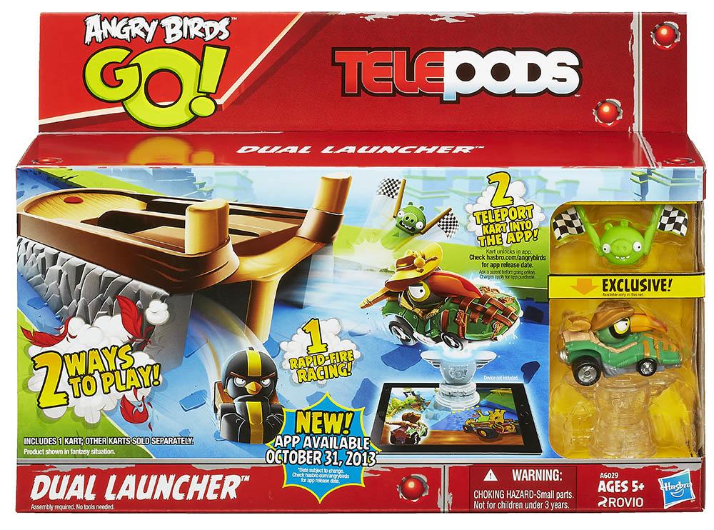 Hasbro Angry Birds Go! Odpalovač s autíčkem