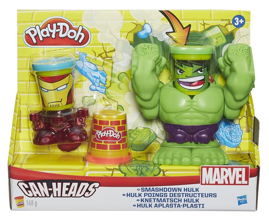 Hasbro Play-Doh Marvel Smashdown Hulk