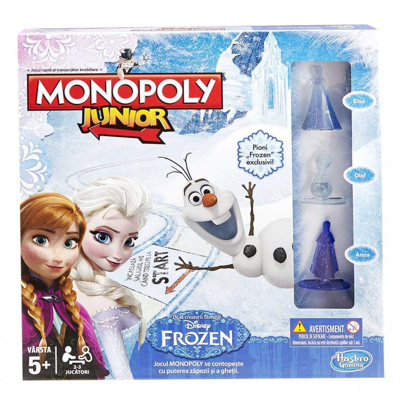 Hasbro Monopoly junior Frozen - Ledové království cz/sk