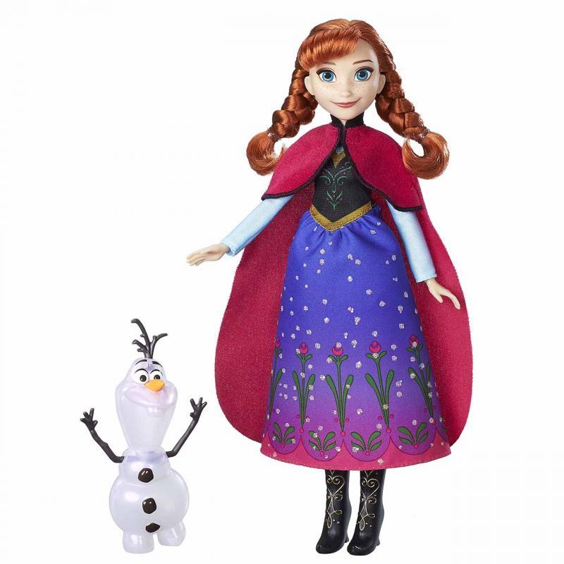 Hasbro Frozen Panenka Elsa/Anna se třpytivým kamarádem, více druhů