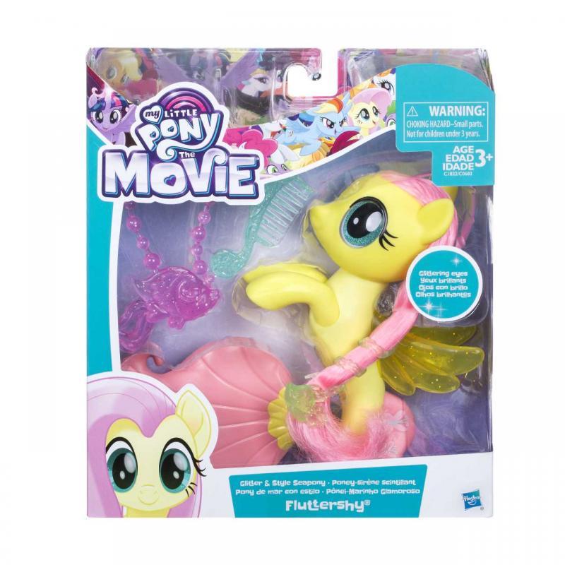 Hasbro My Little Pony Morský poník 15cm s módnymi doplnkami, viac druhov