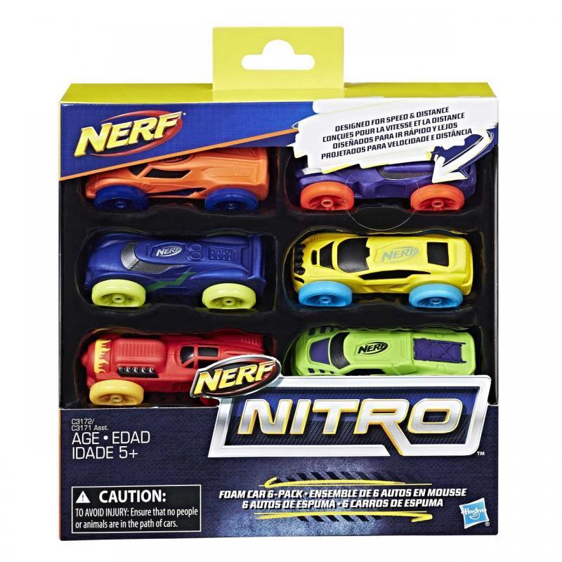 Hasbro Nerf Nitro náhradní nitro 6 ks, viac druhov