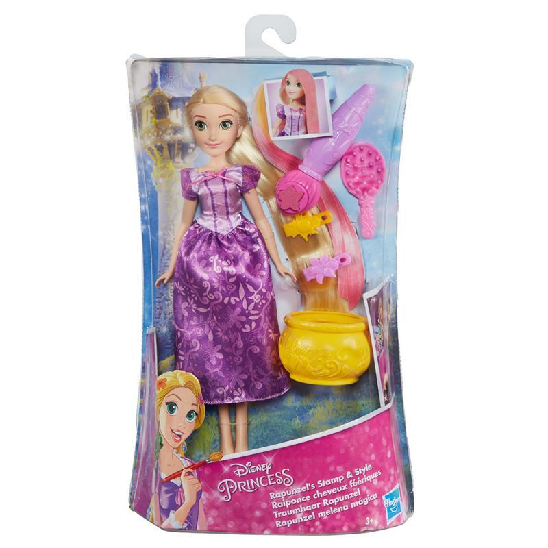 Hasbro Disney Princezny Locika s dlouhými vlasy a doplňky