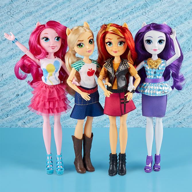 Hasbro My Little Pony Equestria Girls panenka, více druhů