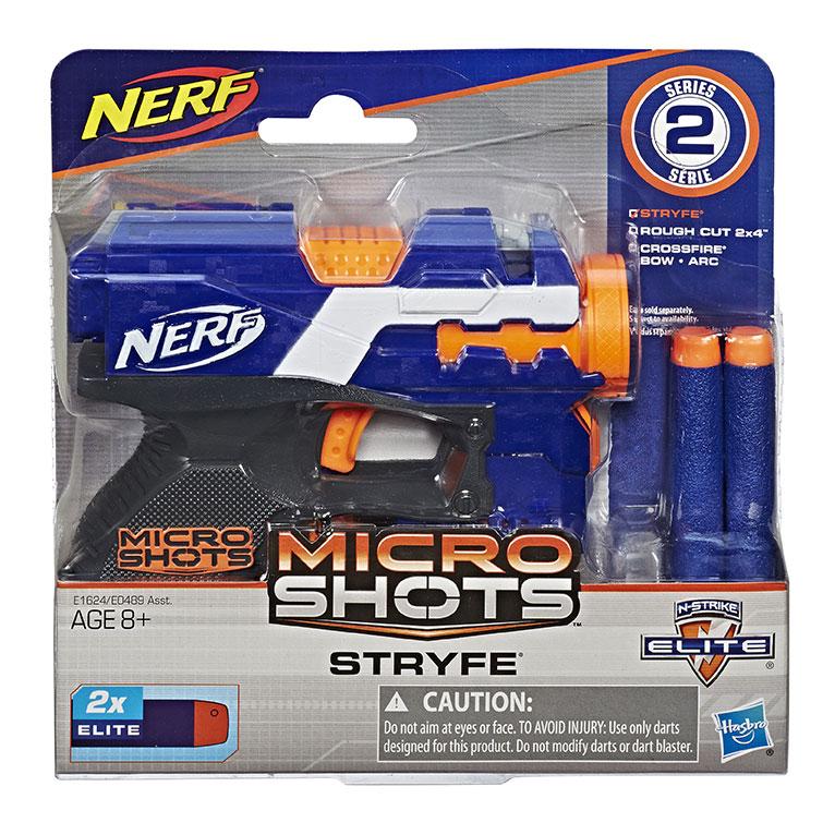 Hasbro Nerf Microshots, viac druhov