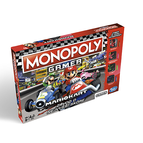 HASBRO Monopoly Gamer Mario Kart CZ