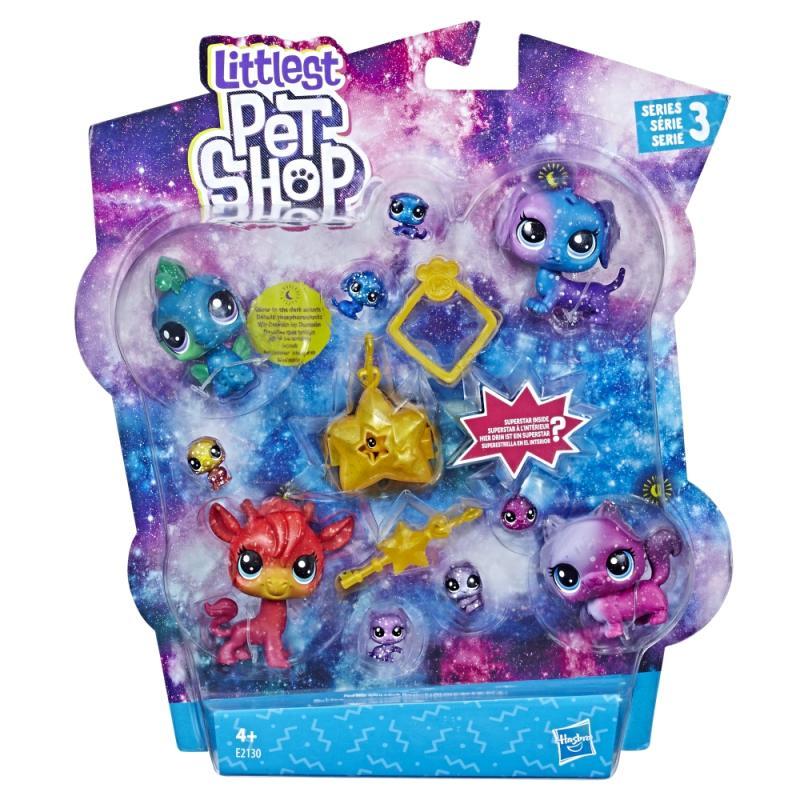 Hasbro Littlest Pet Shop Kosmická zvířátka 10ks