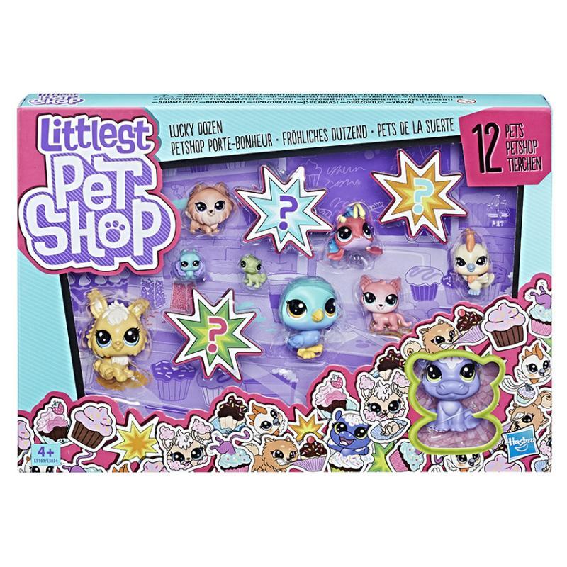 Hasbro Littlest Pet Shop Velké balení zvířátek, více druhů