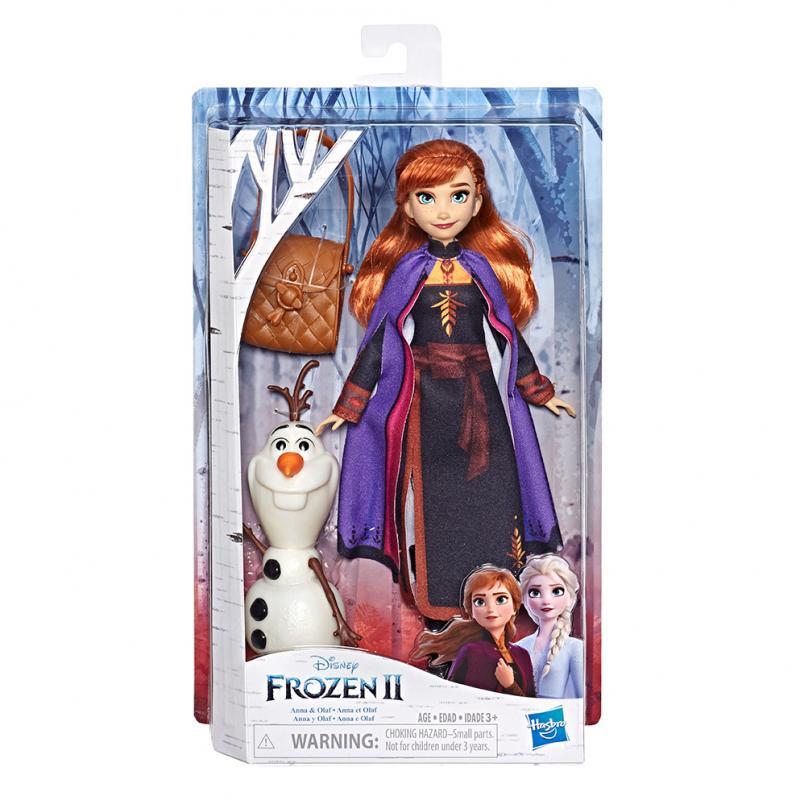 Hasbro Frozen 2 Panenka Anna s kamarádem