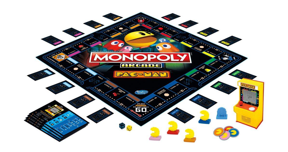 HASBRO Monopoly PAC - MAN