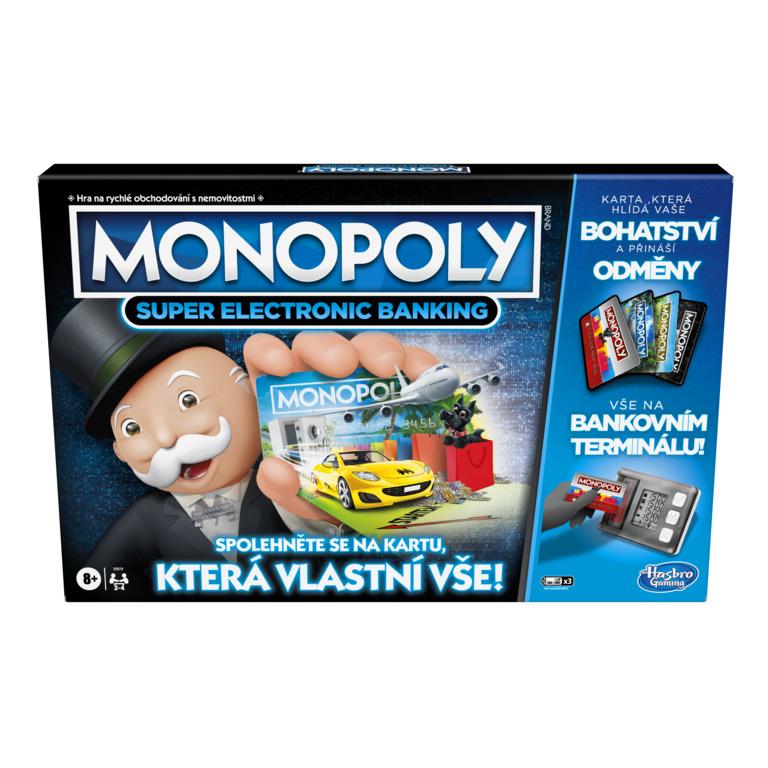 Monopoly Super elektronické bankovnictví CZ verze