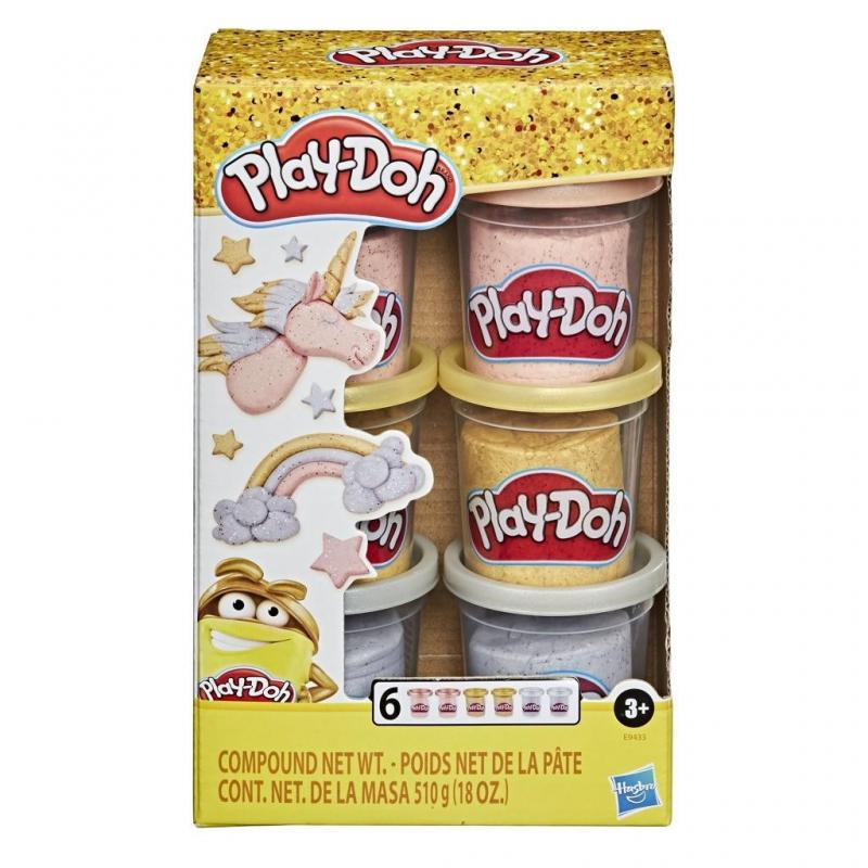 HASBRO PLAY DOH METALLICS COMPOUND COLLECTION