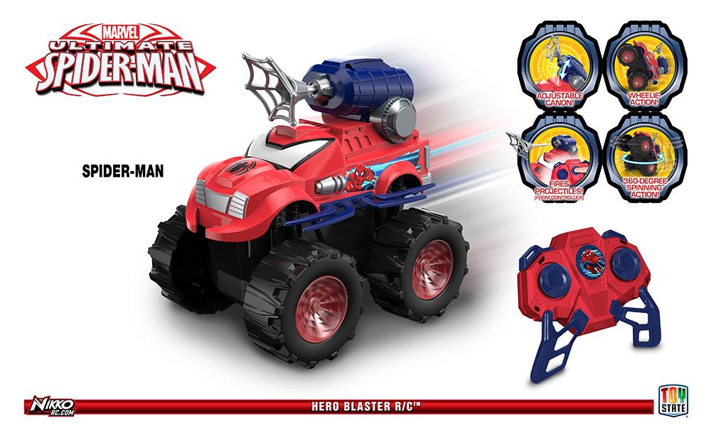 Nikko RC MARVEL HERO blaster Spider-Man