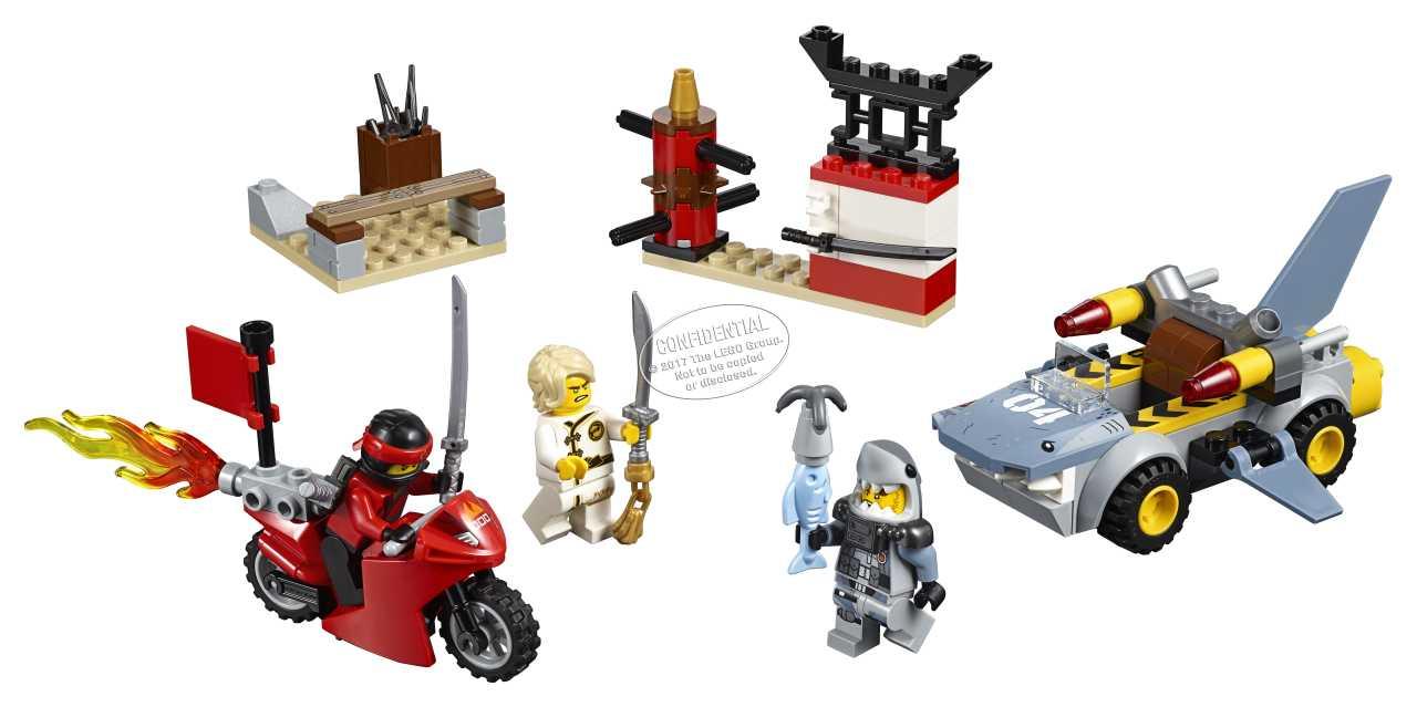 LEGO Ninjago Juniors 10739 Žraločí útok