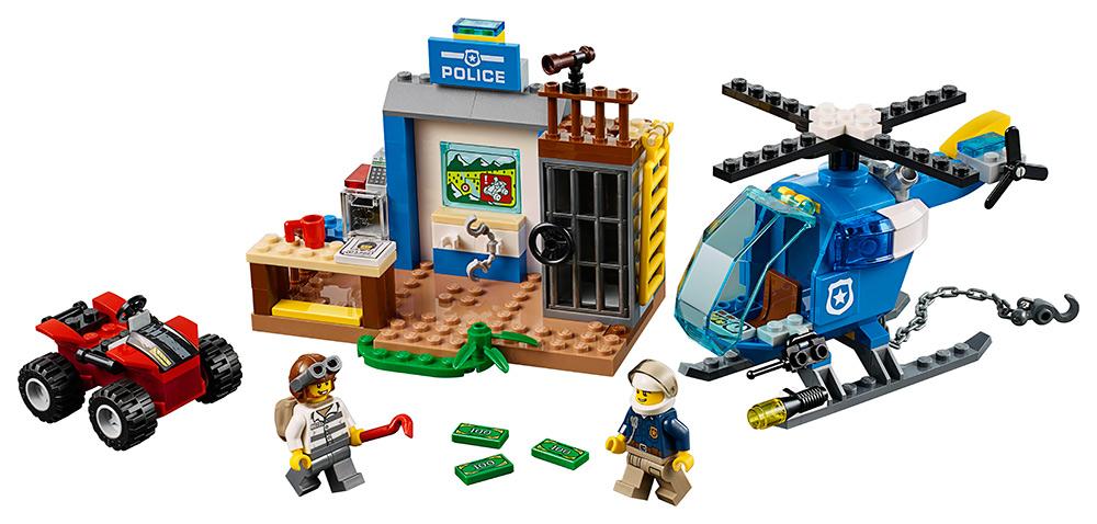 4ac177be5 LEGO Juniors 10751 Policejní honička v horách