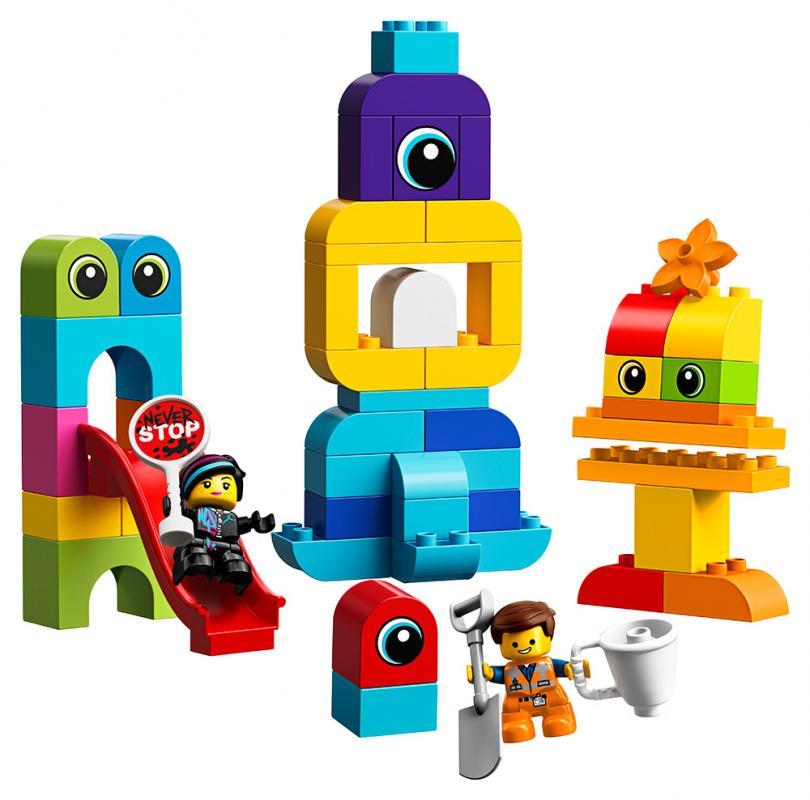 LEGO Duplo 10895 Emmet, Lucy a návštěvníci z DUPLO® planety