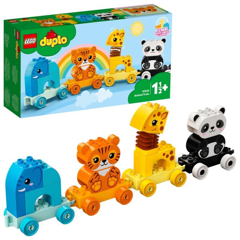 LEGO® DUPLO® 10955 Vláček se zvířátky