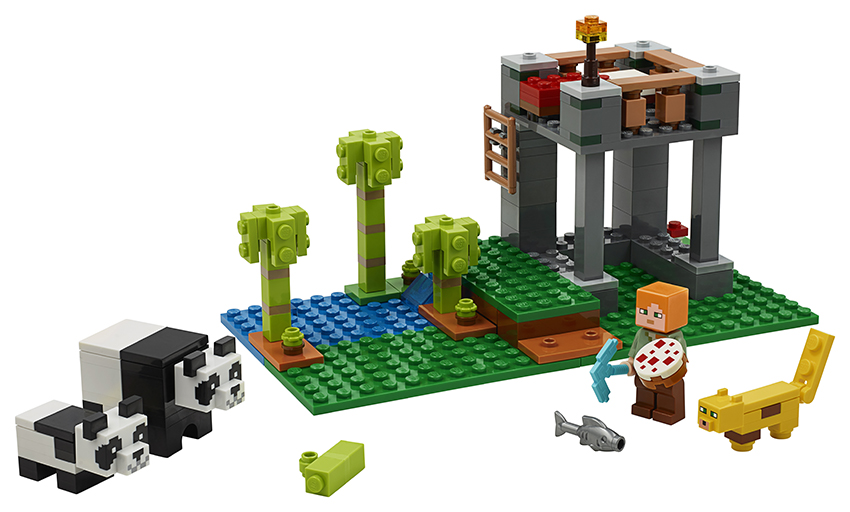 LEGO Minecraft 21158 Pandí školka