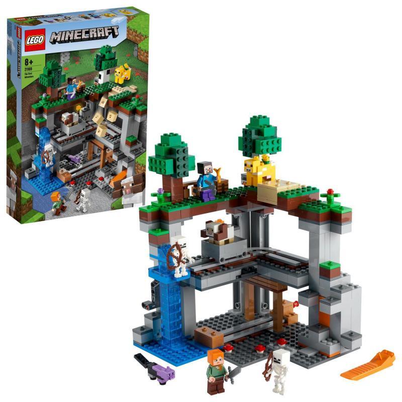 LEGO® Minecraft™ 21169 Prvé dobrodružstvo