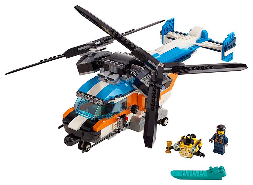 LEGO Creator 31096 Helikoptéra se dvěma rotory