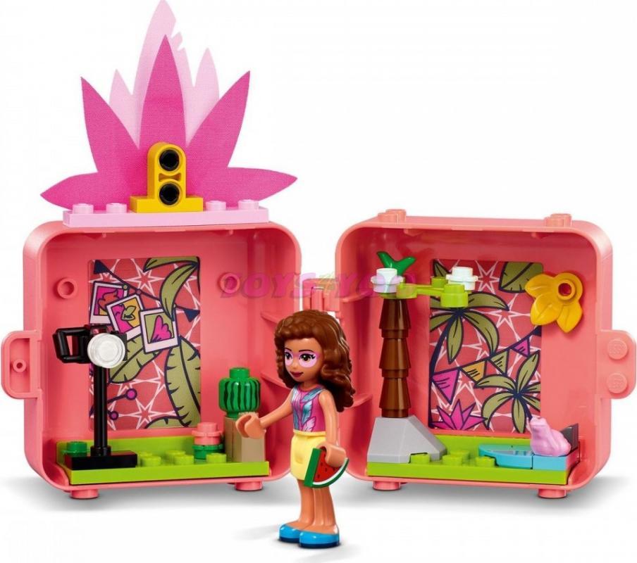 LEGO® Friends 41662 Olivia a její plameňákový boxík