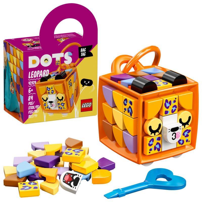 LEGO® DOTS 41929 Ozdoba na tašku – leopard