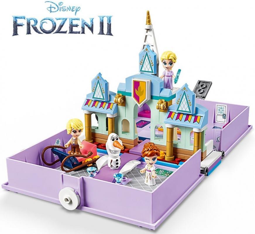 LEGO Disney Princess 43175 Anna a Elsa a jejich pohádková kniha dobrodružství