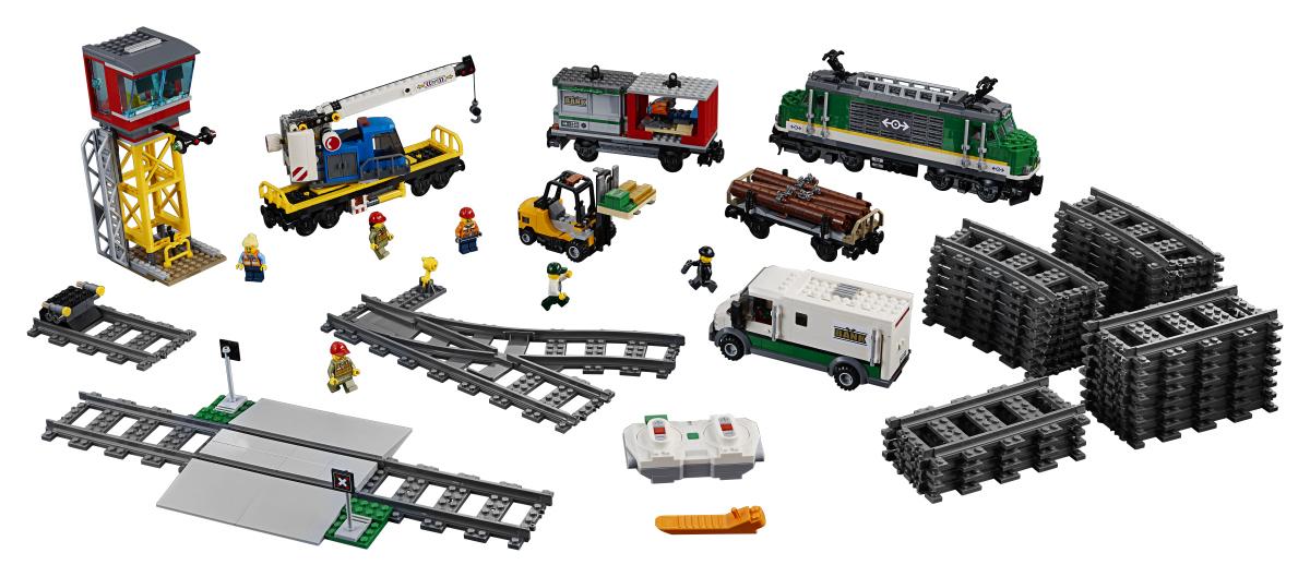LEGO City Trains 60198 Nákladní vlak
