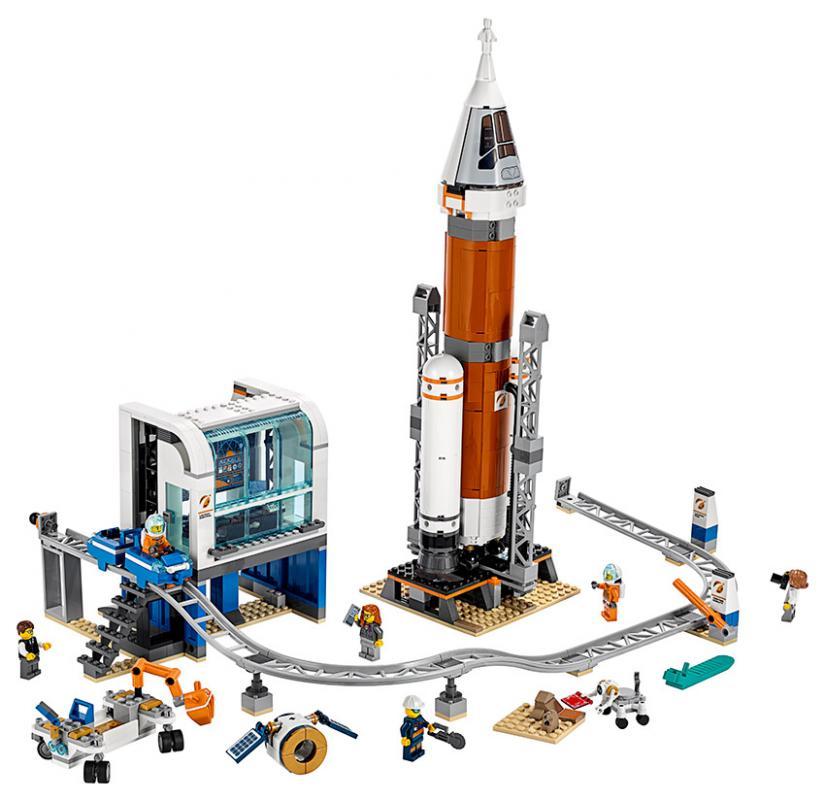 LEGO City Space Port 60228 Start vesmírné rakety