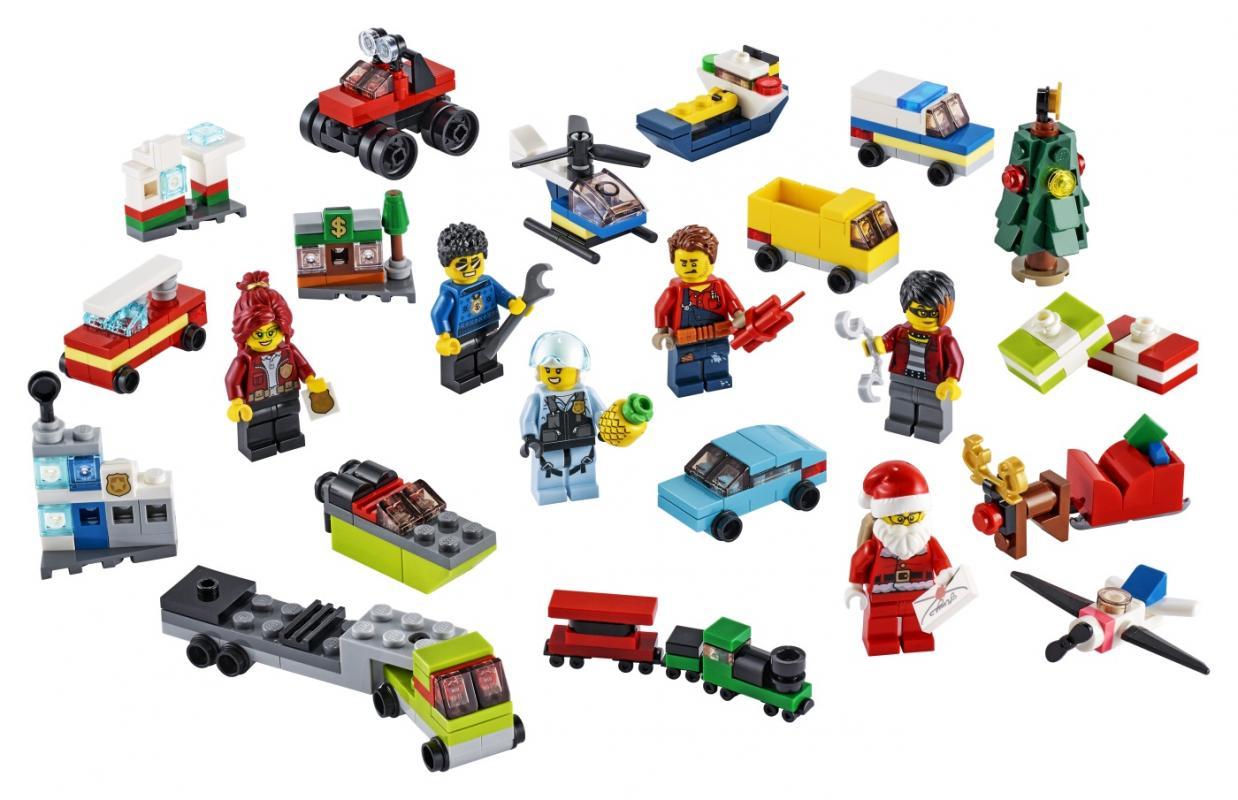 LEGO City 60268 Adventní kalendář LEGO® City