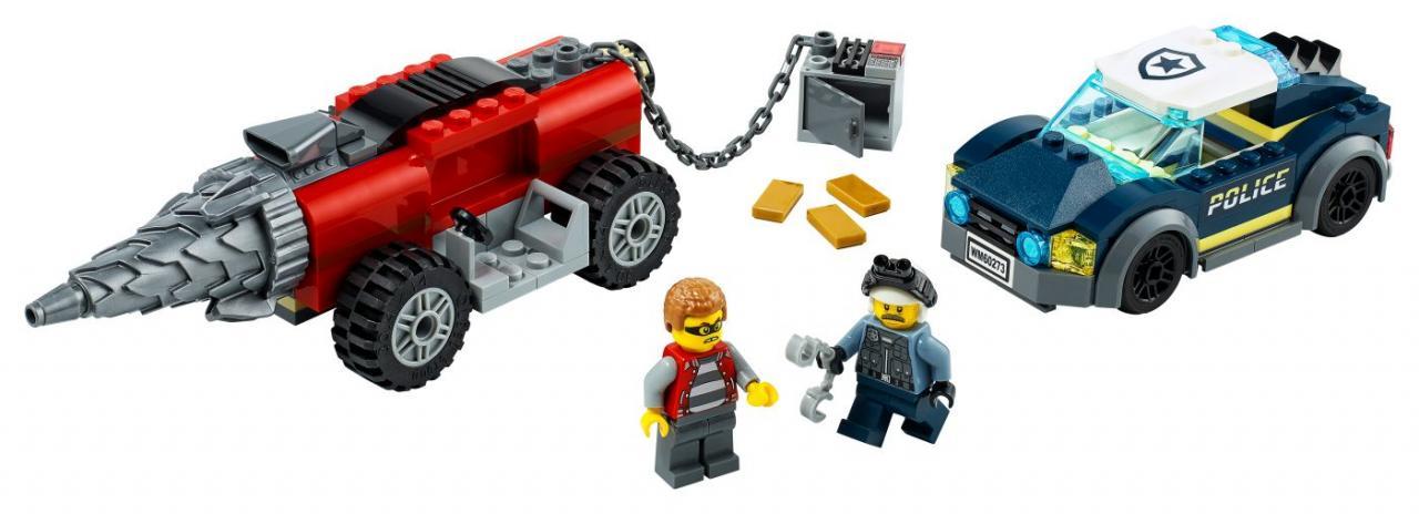 LEGO CITY 60273 Honička elitní policie s vrtákem