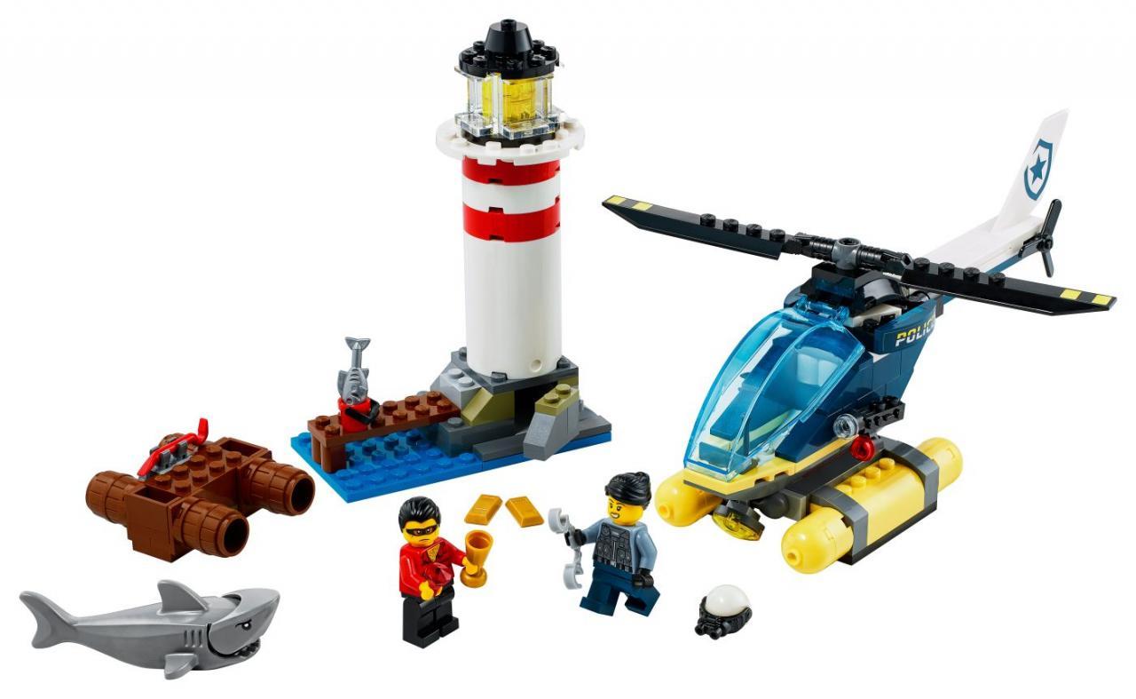 LEGO CITY Elitní policie zasahuje u majáku
