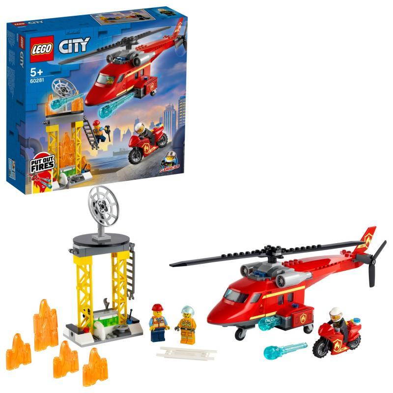 LEGO® City 60281 Hasičský záchranný vrtulník