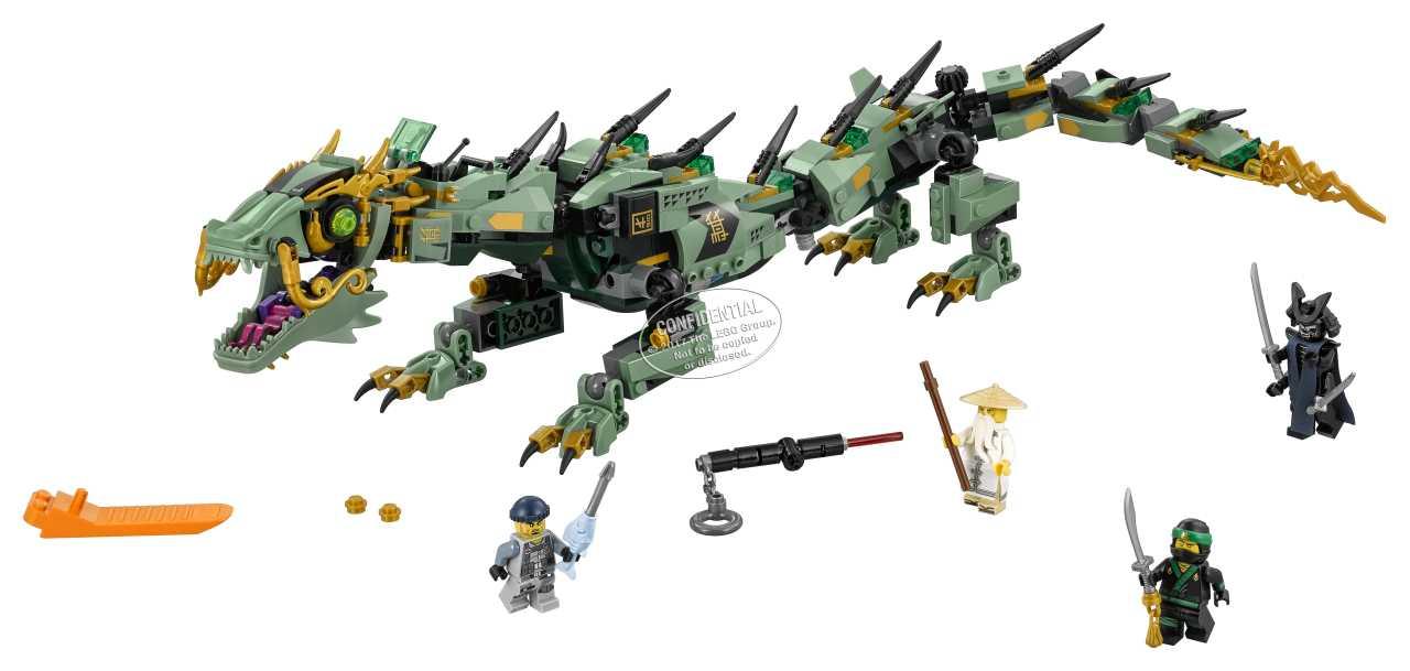 LEGO Ninjago 70612 Robotický drak Zeleného nindži