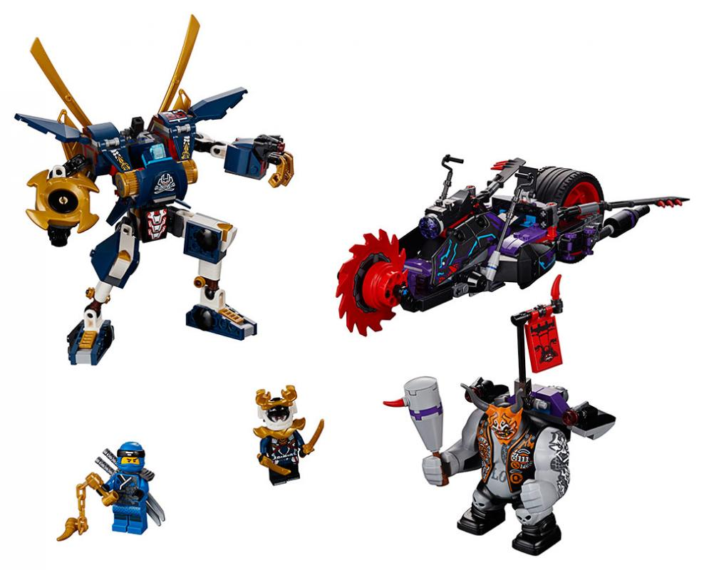 Lego ninjago 70642 killow vs samuraj x - Ninjago vs ninjago ...