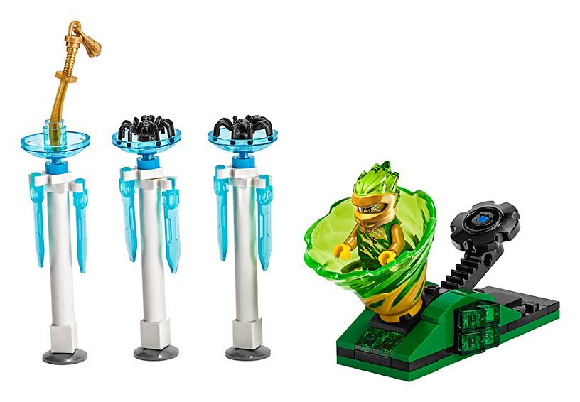 LEGO Ninjago 70681 Spinjitsu výcvik – LLoyd