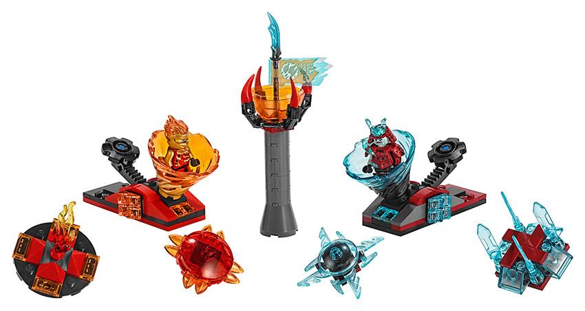 LEGO Ninjago 70684 Spinjitsu výcvik – Kai vs. Samuraj