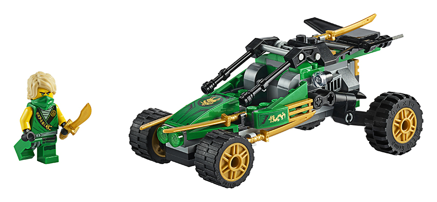 LEGO Ninjago 71700 Bugina do džungle