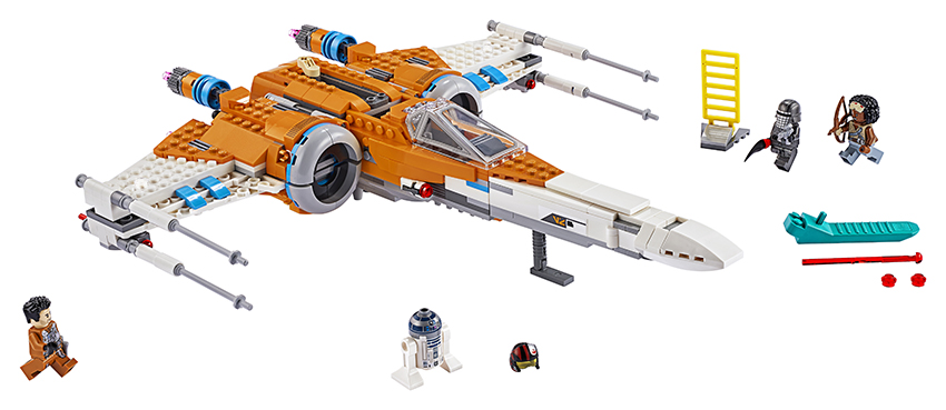 Lego Star Wars TM 75273 Stíhačka X-wing Poe Damerona