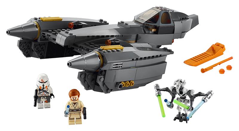 Levně LEGO Star Wars 75286 Stíhačka generála Grievouse