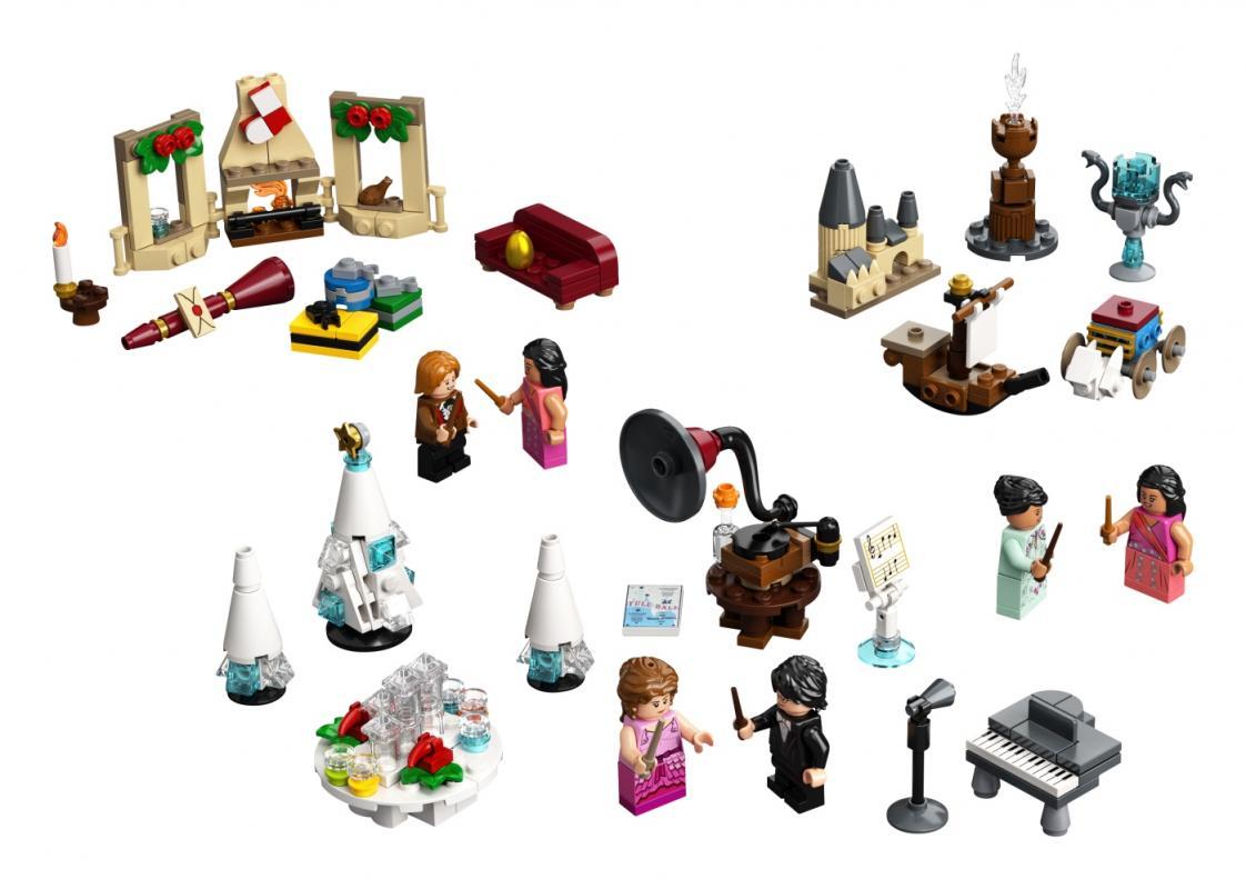 LEGO Harry Potter 75981 Adventní kalendář LEGO® Harry Potter™