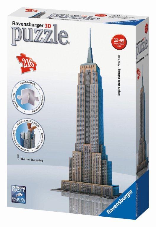 Ravensburger 3D puzzle Empire State Building 216 dílků