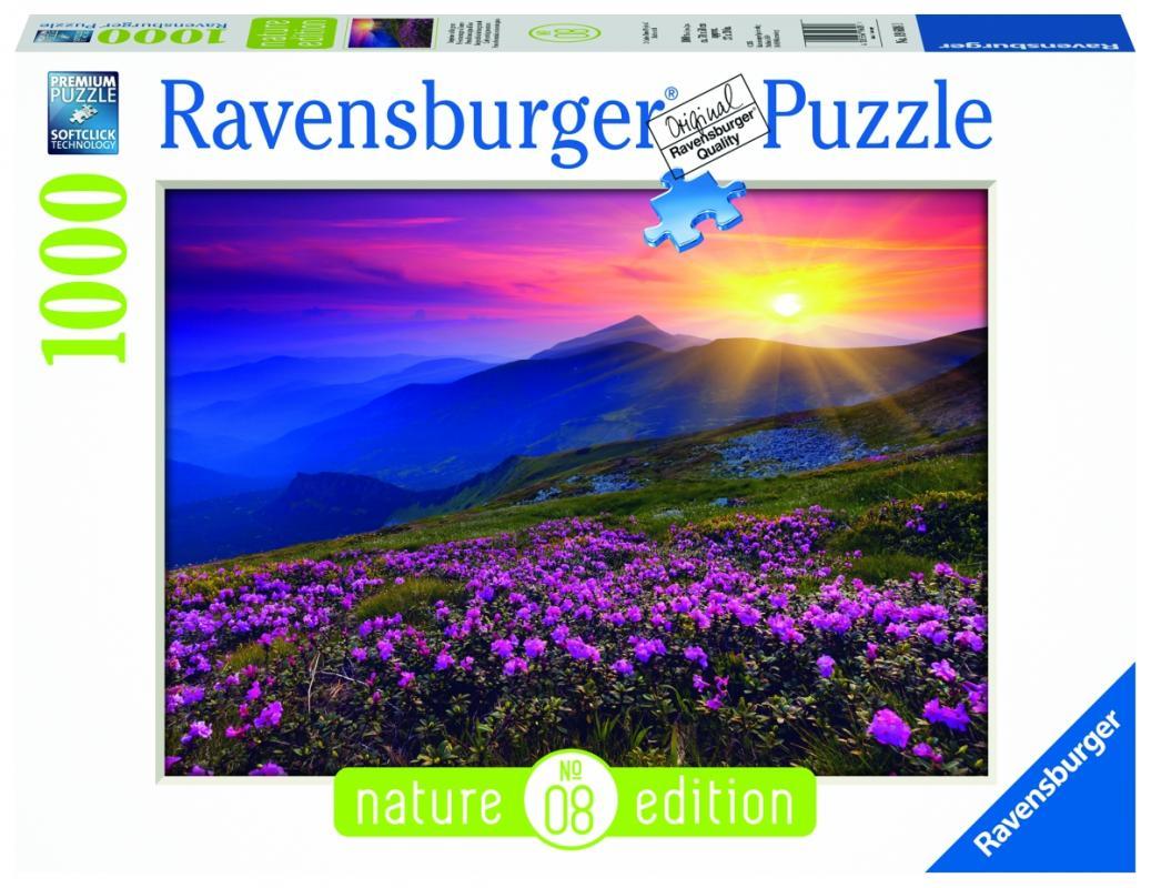 Ravensburger Horská louka v červánkách; 1000 dílků