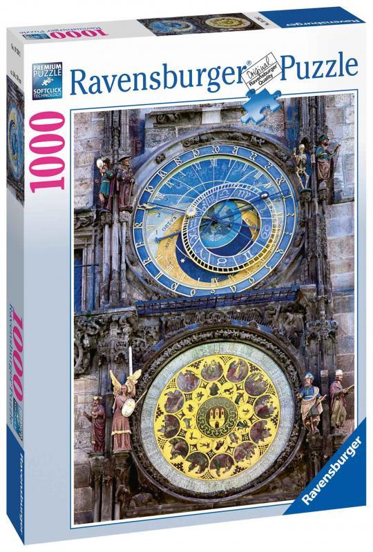 Ravensburger puzzle Praha Orloj 1000 dílků