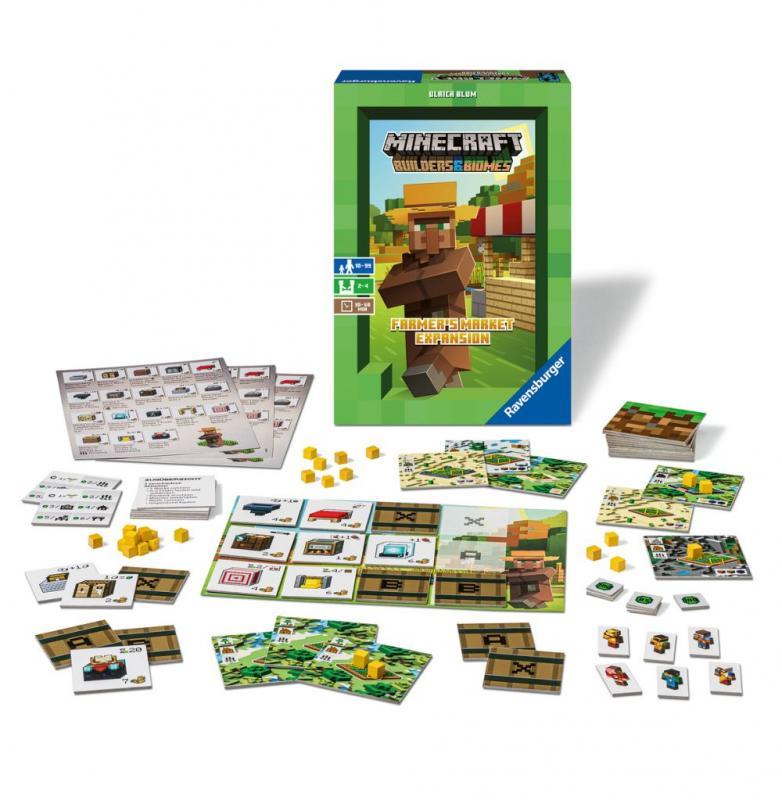 RAVENSBURGER Minecraft: Farmer's market - rozšíření